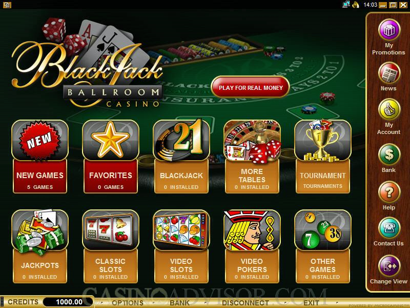 Get up to $500 in welcome bonuses to play at Blackjack Ballroom Casino