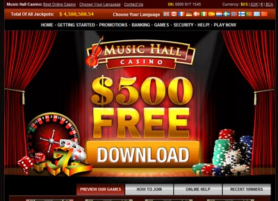 Visit Music Hall Casino