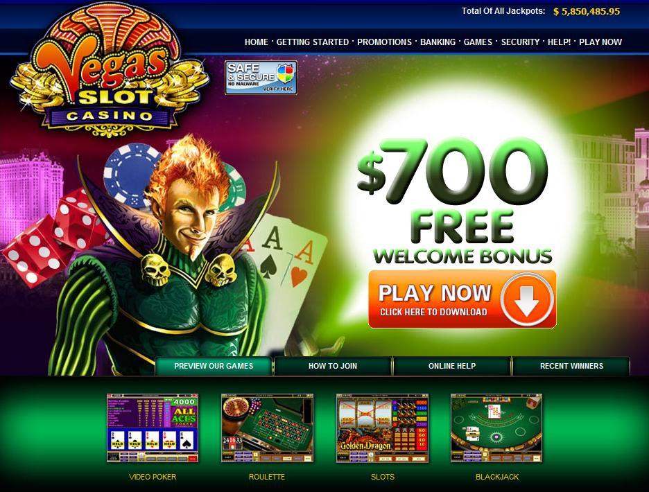 vegas casino free slots